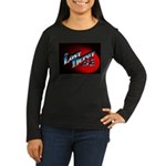 The Lost Depot - Women's Long Sleeve Dark T-Shirt