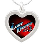The Lost Depot - Off The Rai Silver Heart Necklace