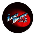The Lost Depot - Off The Rails Round Car Magnet