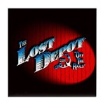The Lost Depot - Off The Rails Tile Coaster