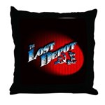 The Lost Depot - Off The Rails Throw Pillow