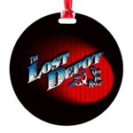 The Lost Depot - Off The Rails Round Ornament