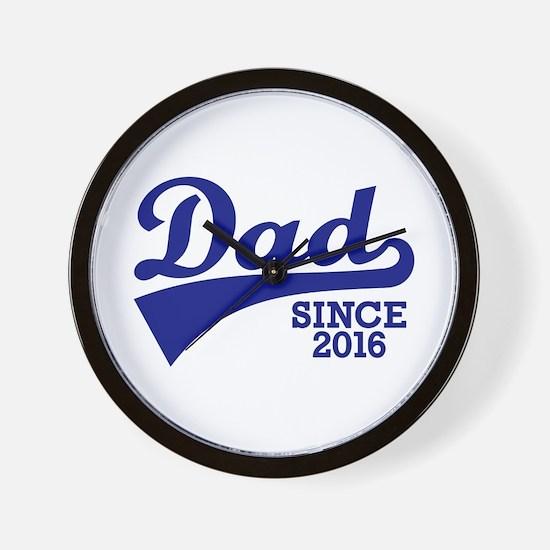 Dad 2016 Wall Clock