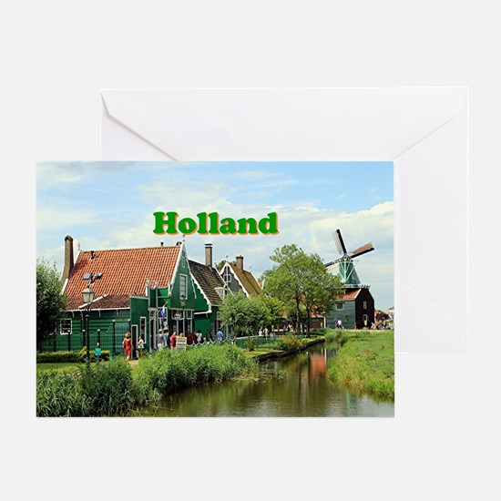 Cute Holland amsterdam Greeting Card