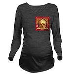 Skull Valley, AZ Long Sleeve Maternity T-Shirt