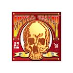 Skull Valley, AZ Square Sticker 3