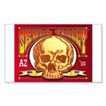 Skull Valley, AZ Sticker (Rectangle)