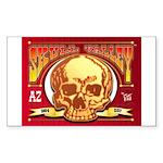 Skull Valley, AZ Sticker (Rectangle 10 pk)