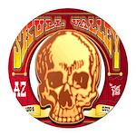 Skull Valley, AZ Round Car Magnet
