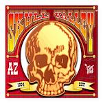 Skull Valley, AZ Square Car Magnet 3