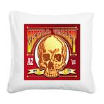 Skull Valley, AZ Square Canvas Pillow