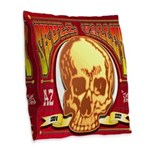 Skull Valley, AZ Burlap Throw Pillow
