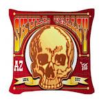 Skull Valley, AZ Woven Throw Pillow