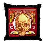 Skull Valley, AZ Throw Pillow