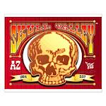 Skull Valley, AZ Small Poster