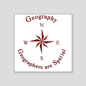 Geographers Sticker