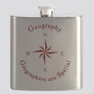 Geographers Flask