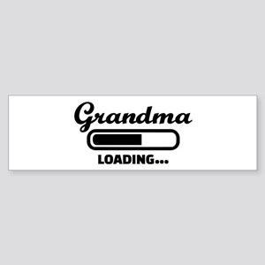 Grandma loading Sticker (Bumper)