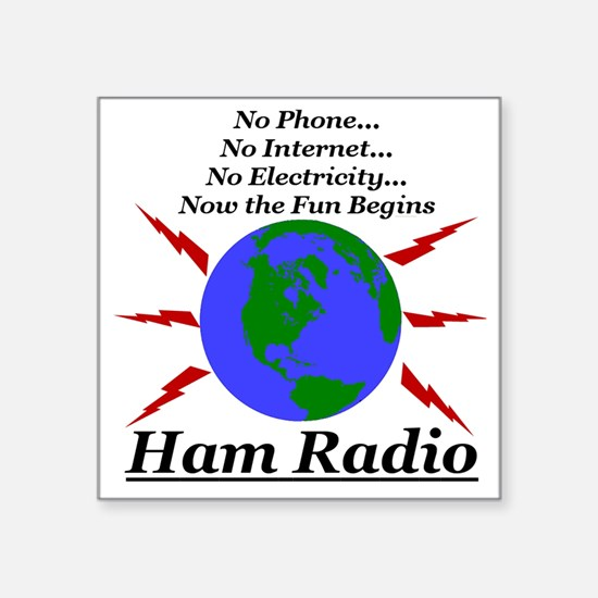 hamfun.jpg Sticker
