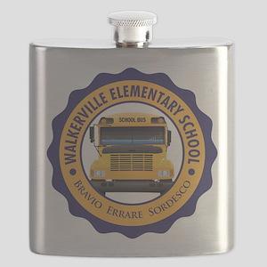 Walkerville Elementary School (Light) Flask