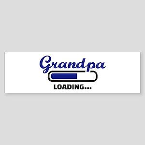 Grandpa loading Sticker (Bumper)