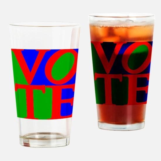 Funny Politics Drinking Glass