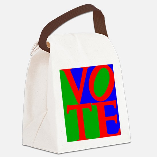 Funny Politics Canvas Lunch Bag