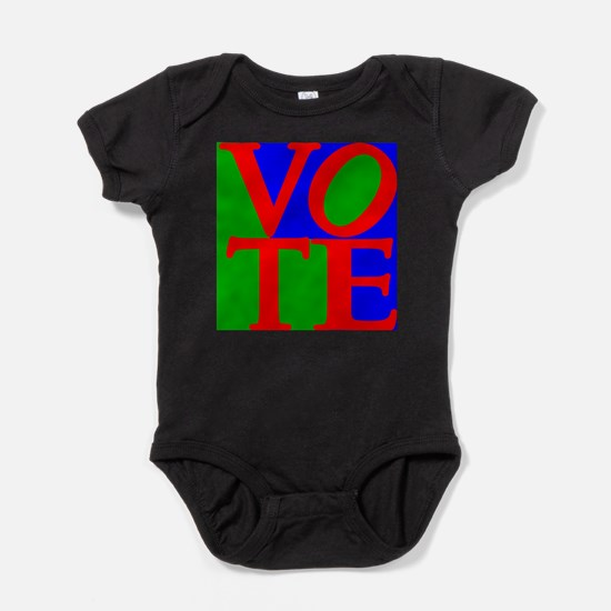 Exercise the Right to Vote Baby Bodysuit