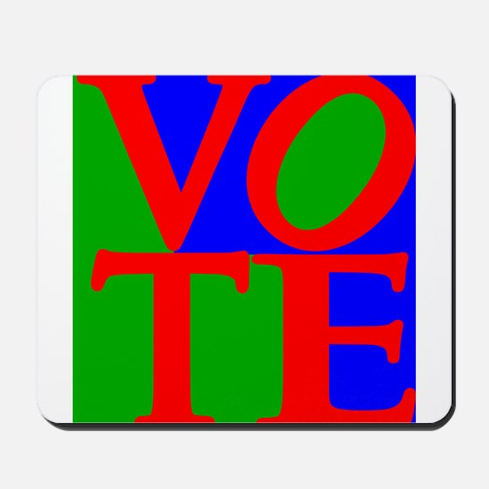 Exercise the Right to Vote Mousepad