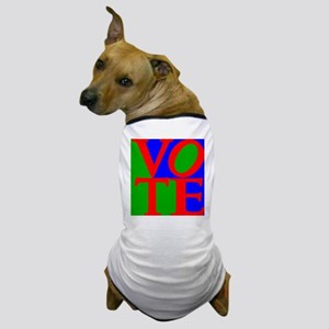 Exercise the Right to Vote Dog T-Shirt