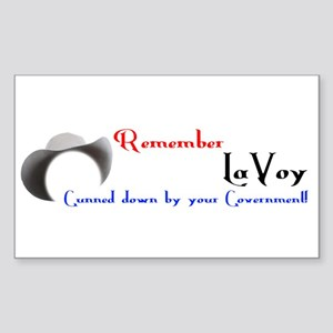 Remember LaVoy Sticker