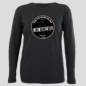 Dance Like You Own the J Plus Size Long Sleeve Tee