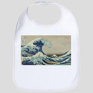 Vintage poster - The Great Wave Off Kanagawa Bib