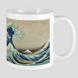 Vintage poster - The Great Wave Off Kanagawa Mugs