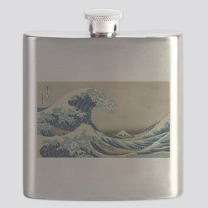 Vintage poster - The Great Wave Off Kanagawa Flask