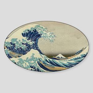 Vintage poster - The Great Wave Off Kanaga Sticker