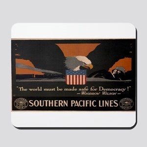Vintage poster - Southern Pacific Mousepad