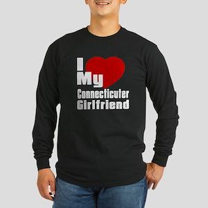 I Love My Connecticuter G Long Sleeve Dark T-Shirt