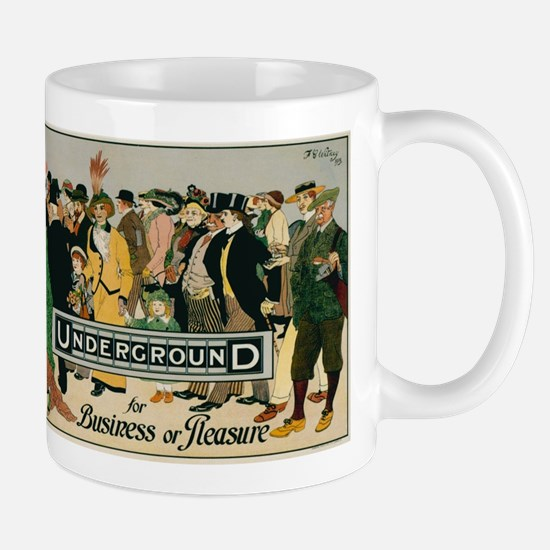 Vintage poster - London Underground Mugs