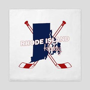 Rhode Island Hockey Queen Duvet