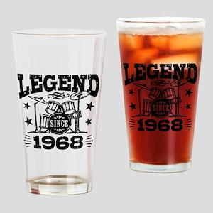 Legend Since 1968 Drinking Glass
