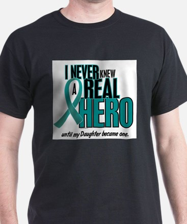 Unique Daughter ovarian cancer T-Shirt