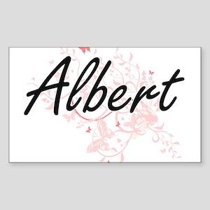 Albert surname artistic design with Butter Sticker