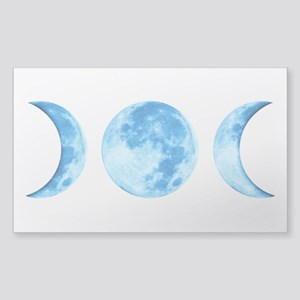 Three Phase Moon Sticker