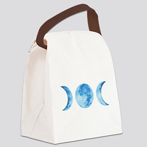 Three Phase Moon Canvas Lunch Bag