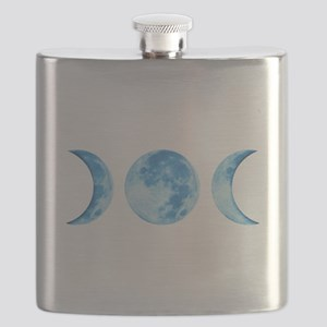 Three Phase Moon Flask