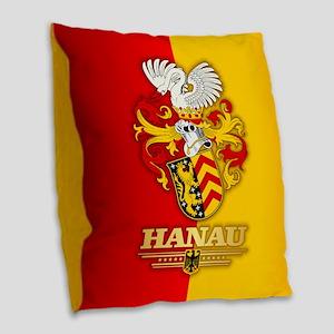 Hanau Burlap Throw Pillow