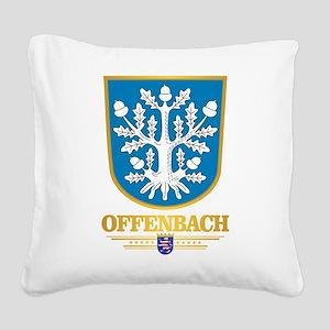 Offenbach Square Canvas Pillow