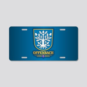 Offenbach Aluminum License Plate