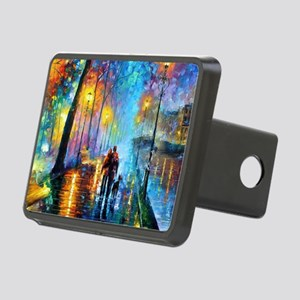Evening Walk Rectangular Hitch Cover